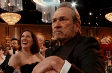 In pictures: Tommy Lee Jones is not impressed