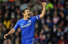 Lampard: Chelsea must transfer away form to the Bridge