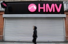 HMV staff in Limerick stage sit-in over wages