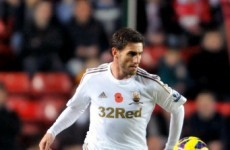 Swansea City full-back feeds the homeless during winter weather