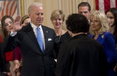 Biden officially sworn in for second term as US vice-president