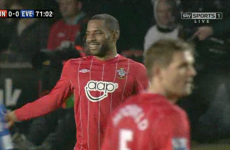 When you gotta go… Jason Puncheon forced to leave the pitch as nature calls