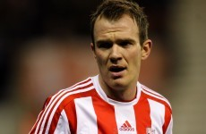 Glenn Whelan's a lucky boy after escaping red for two-footed lunge