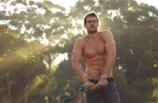 VIDEO: The Diet Coke hunk is back
