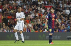 El Clasico… extra: Messi and Ronaldo go head-to-head in Cup clash