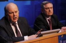 As it happened: Michael Noonan and Brendan Howlin on promissory note deal