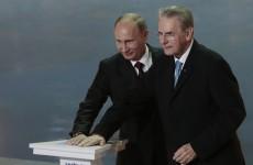 Putin sacks Olympic deputy chief on anniversary of Sochi winter games