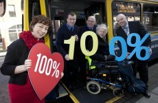 Good news: Dublin Bus fleet now 100 per cent accessible