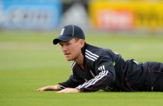 Cracking up: Finger injury rules Morgan out of Cricket World Cup