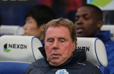 Harry Redknapp blasts 'fabricated' reports