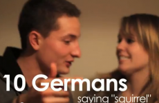 "Why do Germans find it so hard to say ""squirrel""?"