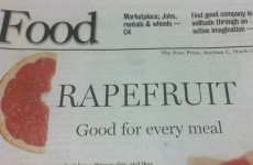 PIC: Is this the worst newspaper headline ever?