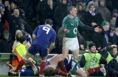 'In my eyes it was definitely a penalty' – Keith Earls on the controversial TMO