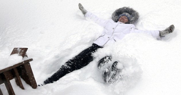 The burning question*: Does prospect of snow excite or fill you with dread?