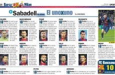 10 out of 10 – Catalan daily Sport gave every Barcelona player a perfect rating today