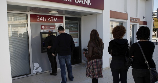 Bank deposits hit as EU/IMF bailout for Cyprus agreed