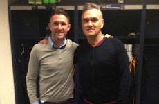 Robbie: I've been related to Morrissey for 32 years and nobody ever told me