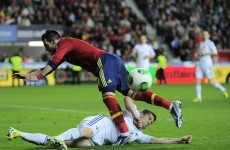 There's nothing wrong with Spain, insists Cazorla