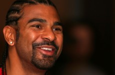 David Haye announces his comeback, has presumably recovered from sore toe