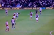 WATCH: Youssouf Mulumbu's crazy red card against West Ham today
