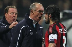 What set Gattuso off? Details of last night's headbutting incident emerge