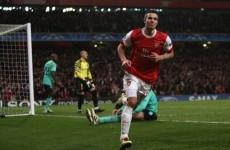 Arsenal 2-1 Barcelona: As it happened