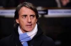 Roberto Mancini: Man Utd's hefty lead is undeserved