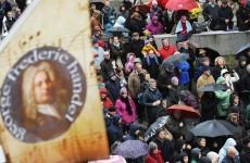 271st anniversary of Handel's Messiah marked in Dublin