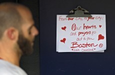Red Sox honour victims of Boston Marathon bombing