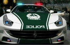 Here's your new police car… it's a Ferrari