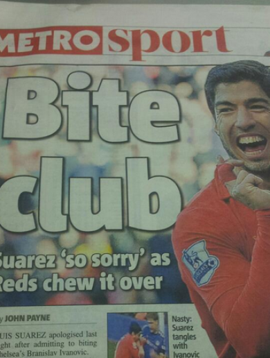 'Liverpool must wash their hands of Suarez' – How the media reacted to bitegate