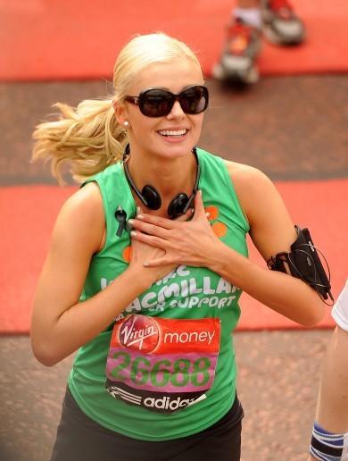 Katherine Jenkins owns the Daily Mail after unkind marathon article