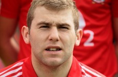 Cork hurler Paudie O'Sullivan suffers serious leg injury
