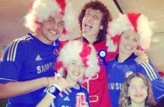 QPR keeper Julio Cesar sorry for picture of him in Chelsea shirt at David Luiz's birthday party