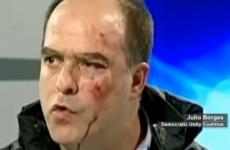 Video: Fights break out as Venezuelan politicians dispute election result