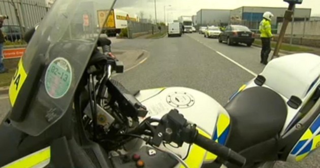 Why this garda bike with an out-of-date tax disc is not breaking the law