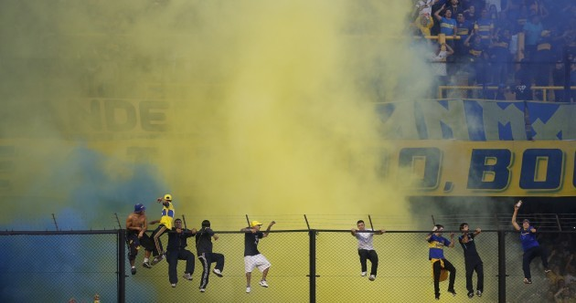 15 of the best and worst images from Argentina's 'Superclásico'