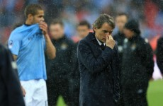 5 reasons why Roberto Mancini has failed at Manchester City