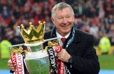 Alex Ferguson raring to go in his final Manchester United match