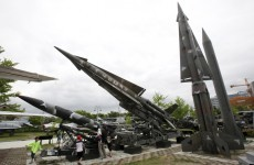 North Korea fires another short-range missile from east coast