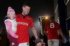 Gift Grub's Ronan O'Gara chatted with the real ROG this morning