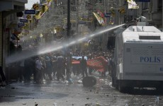 Anti-government protests rage for second day in Istanbul