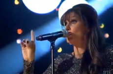 WATCH: Linda Martin's stunning performance of Get Lucky