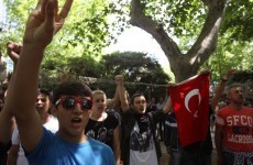 Turkey: Protester dies as car crashes into group of demonstrators
