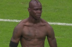 Move over Tiger and Sergio… Usain Bolt and Mario Balotelli are feudin' now