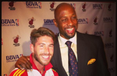 Sergio Ramos and Spain teammates soak up Game 1 of the NBA Finals