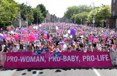 Thousands turn out for Pro-Life vigil in Dublin