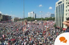 Column: Solidarity is vital to show Turkish protesters the world is watching