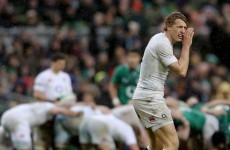 Billy Twelvetrees called up to Lions squad