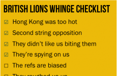 """View from Down Under: Aussies' """"British Lions' whinge checklist"""""""